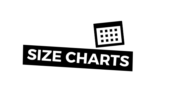 Size Charts & Care Instructions