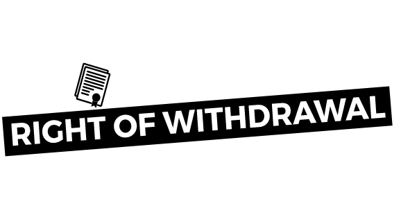 Right Of Withdrawal